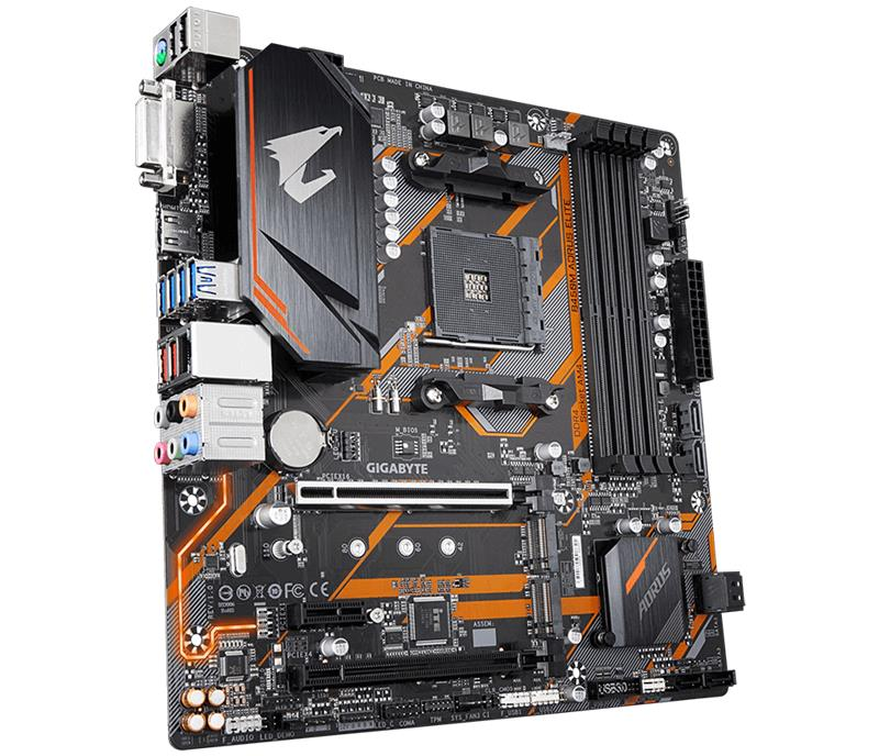 MOTHER GIGABYTE B450M AORUS ELITE RGB 2.0MB AM4