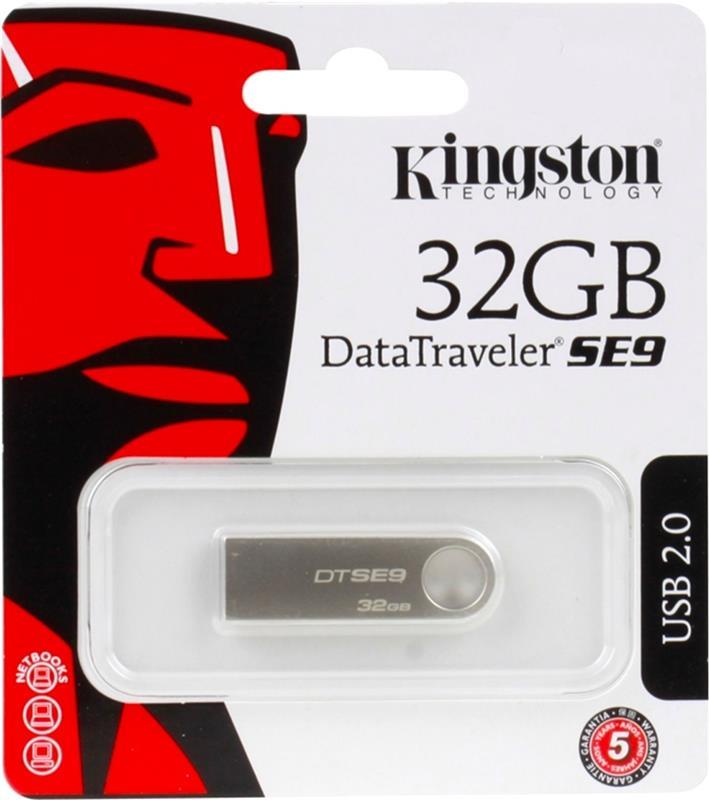 PEN DRIVE 32 GB KINGSTON 2.0 DTSE9H