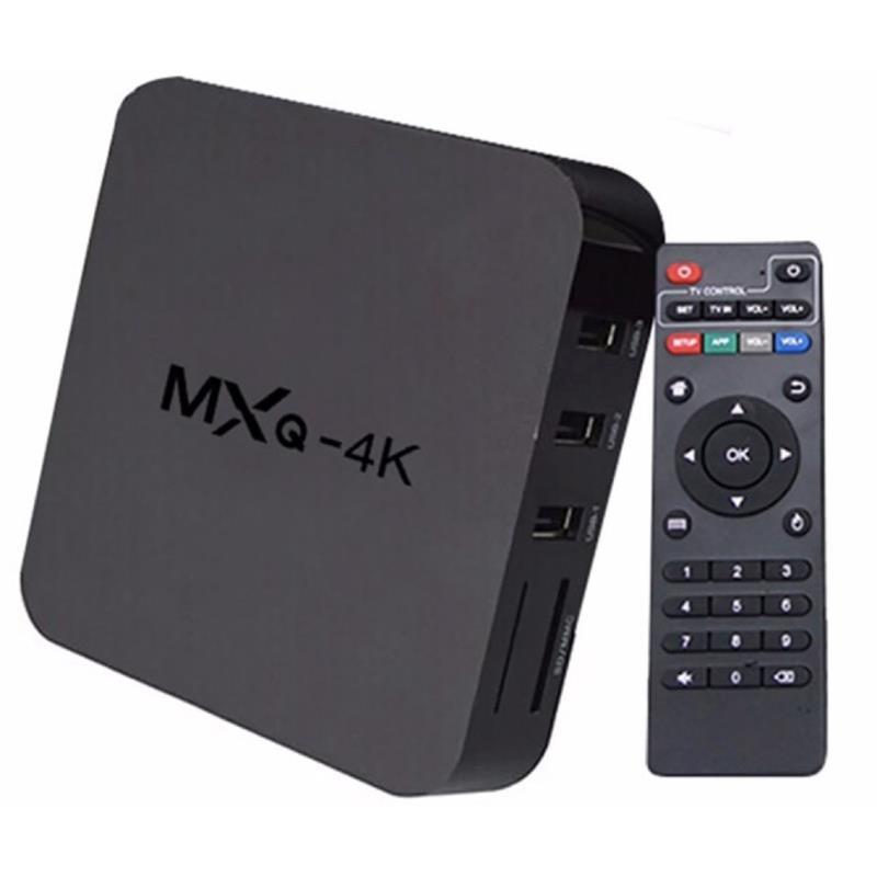 MINI PC SMART TV BOX MXQ-4K 1GB 8GB E-VIEW ANDROID 7.1.2