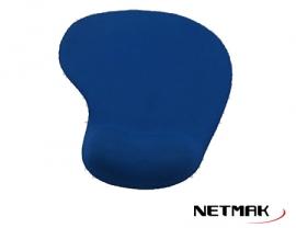 NETMAK PAD MOUSE GEL BLUE NM-PGEL-B