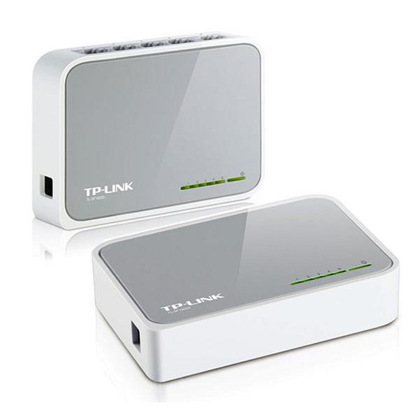 SWITCH 5 PUERTOS TP-LINK 10/100 SF1005D